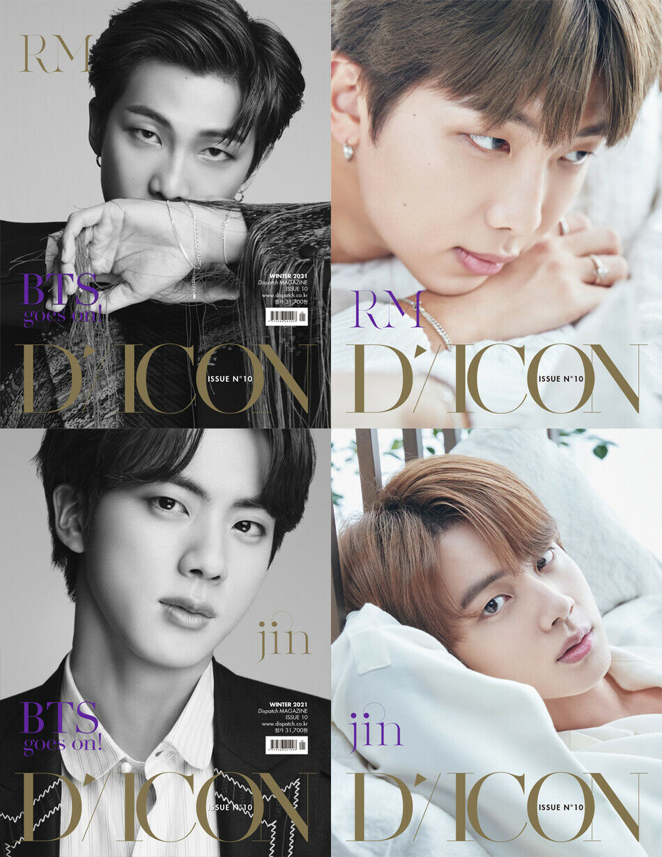 BTS DICON BTS GOES ON INDIVIDUAL ISSUE10 RM JIN SOKOLLAB UK