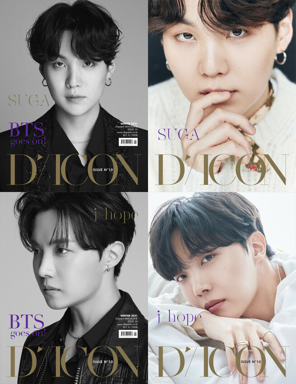BTS DICON BTS GOES ON INDIVIDUAL ISSUE10 SUGA JHOPE SOKOLLAB UK
