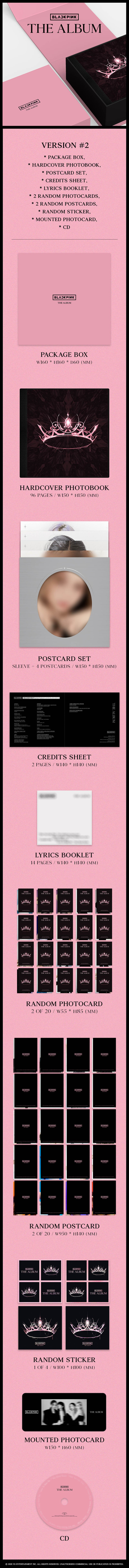 Blackpink 1st Full Album The Album SOKOLLAB UK