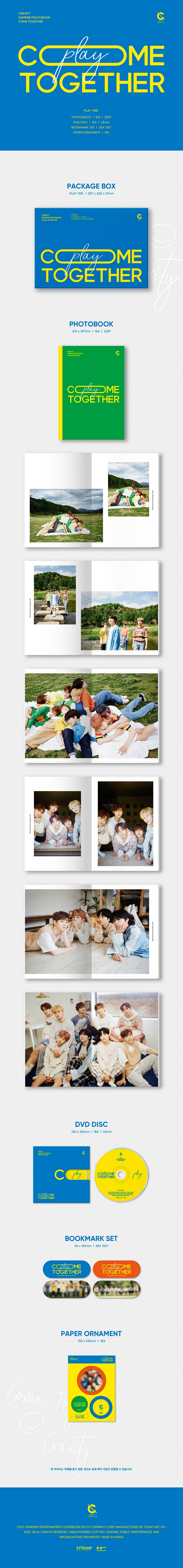 CRAVITY SUMMER PACKAGE PLAY PHOTOBOOK