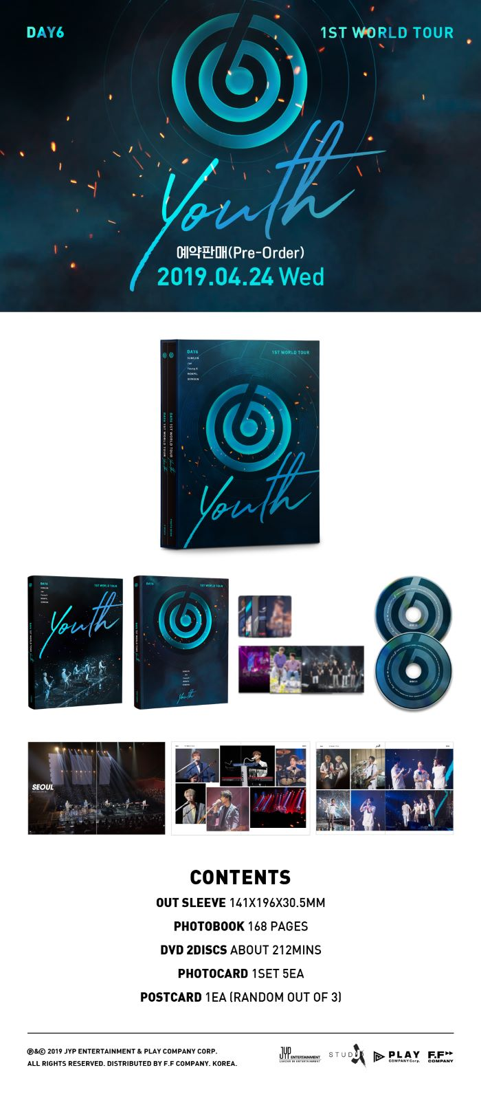 DAY6 1ST WORLD TOUR DVD YOUTH