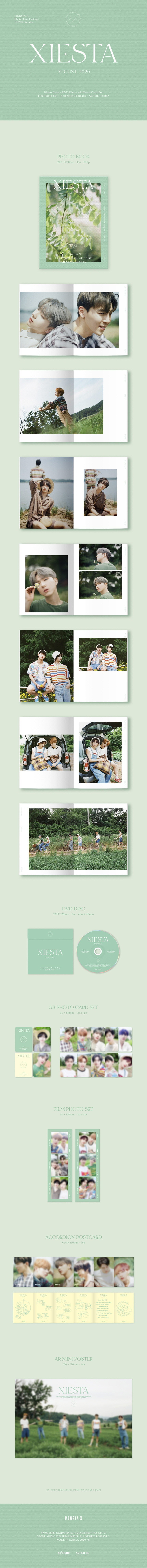 Monsta X 2020 Photobook Xiesta UK