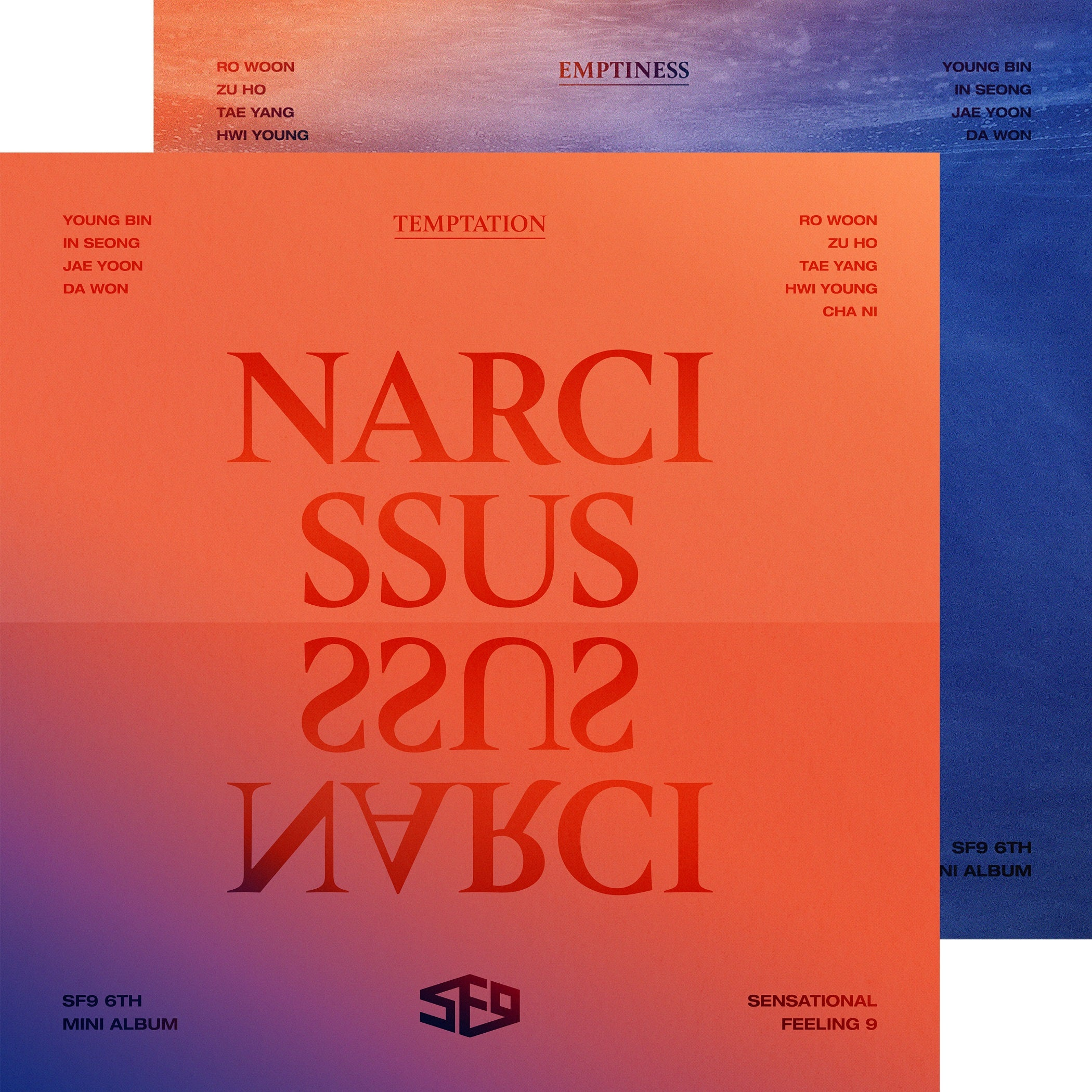 SF9 Narcissus Temptation Emptiness