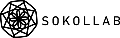 Sokollab text with logo