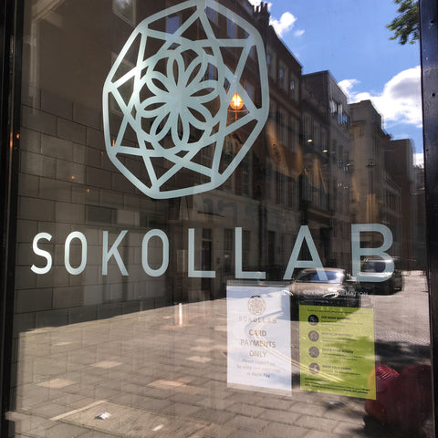 SOKOLLAB Store Window Reopening