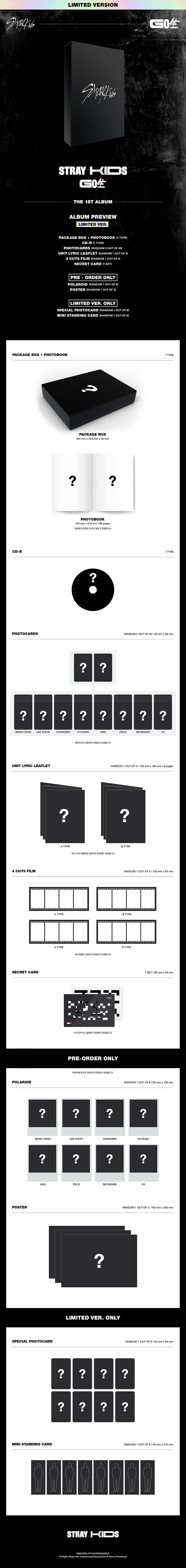 Stray Kids Go Live Limited Edition