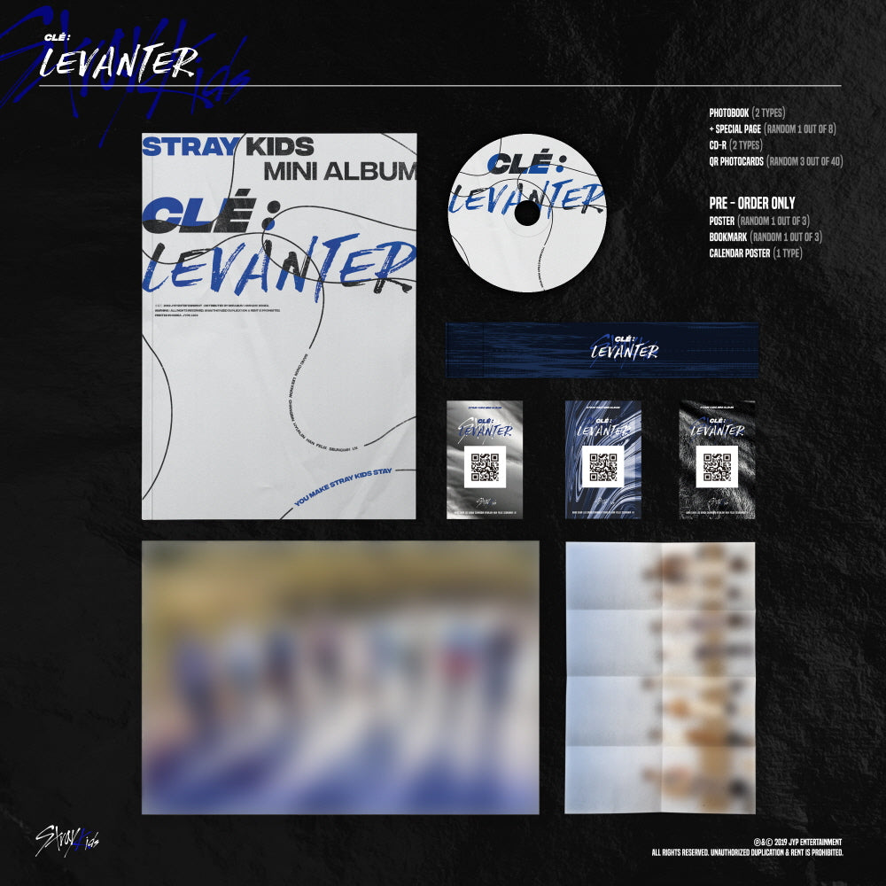 Stray Kids Levanter Normal Edition
