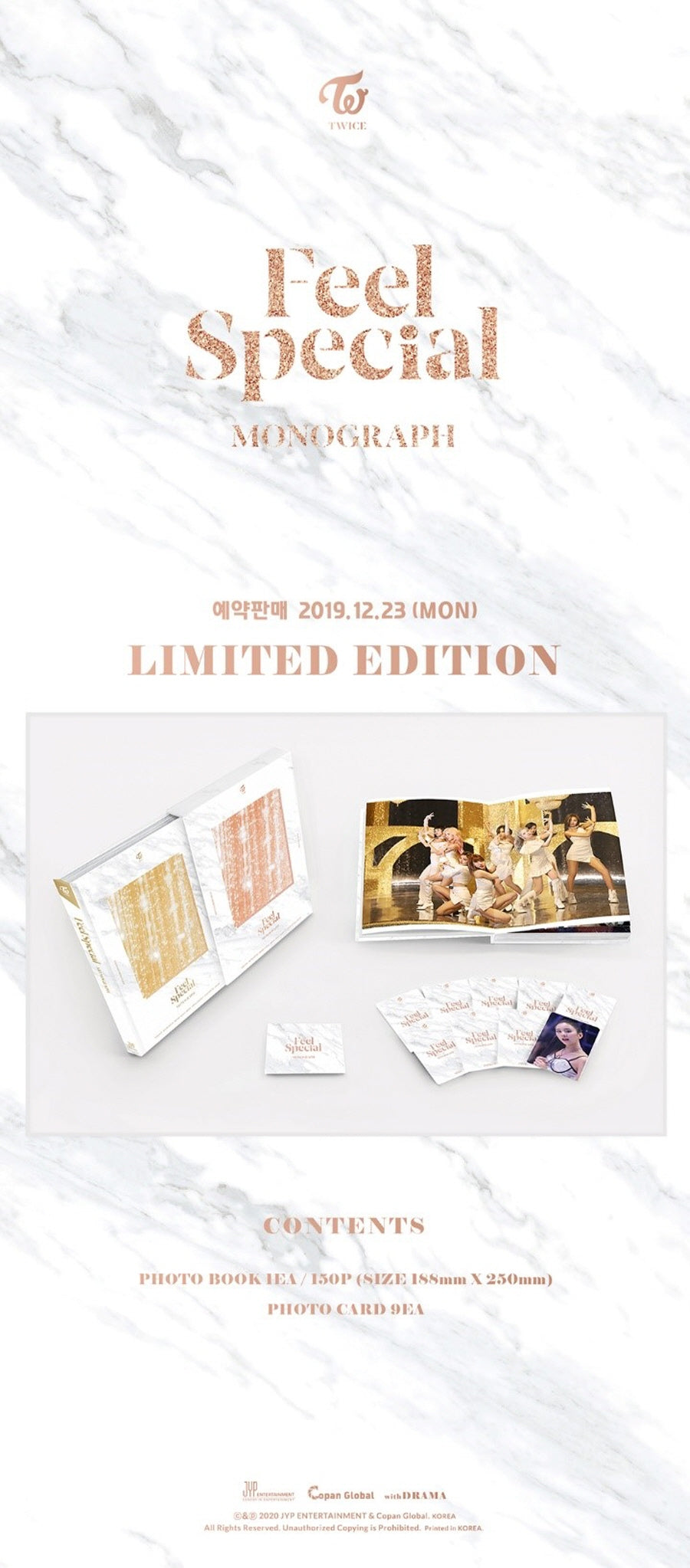TWICE Feel Special MONOGRAPH Limited Edition SOKOLLAB London UK Best KPOP and KBeauty Store
