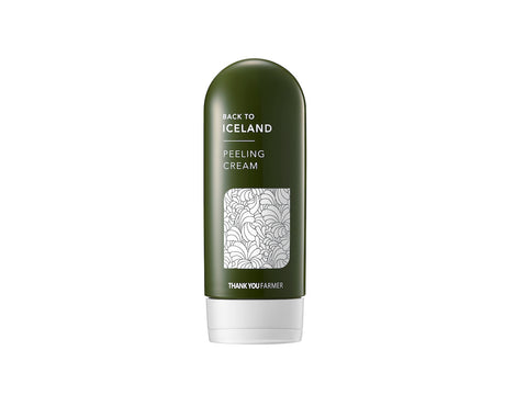 Thank You Farmer Back To Iceland Icelandic Moss Peeling Cream from Maskhouse at SOKOLLAB London KBeauty and Kpop Store