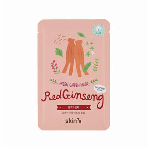 skin79 FRESH GARDEN MASK - RED GINSENG - 1 piece