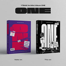 1TEAM - 3rd Mini Album [ONE] (Versions Make, This)