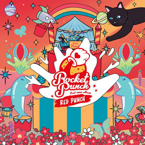 Rocket Punch 2nd Mini Album Red Punch