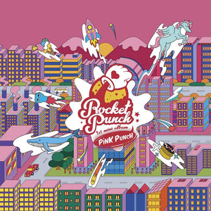Rocket Punch 1st Mini Album Pink Punch