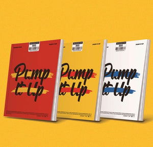 GOLDEN CHILD 2ND SINGLE ALBUM 'PUMP IT UP'