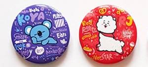 BT21 Small Character Badge