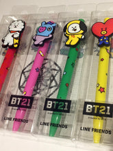 SOKOLLAB BT21 Jelly Pens Koya Cooky Shooky Chimmy Tata RJ Mang