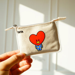 BT21 Mini PVC Canvas Coin Purse