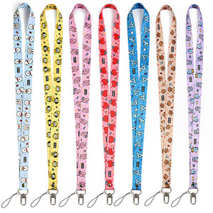 BT21 Lanyard Neck Strap Basic from SOKOLLAB