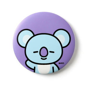 BT21 Pocket Mirror (Shooky, Van, Mang, Koya)