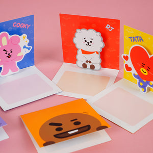 BT21 Pop Up Gift Greeting Card