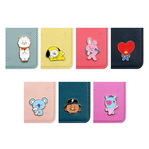 BT21 Travel Wallet Mini Mascot Journey