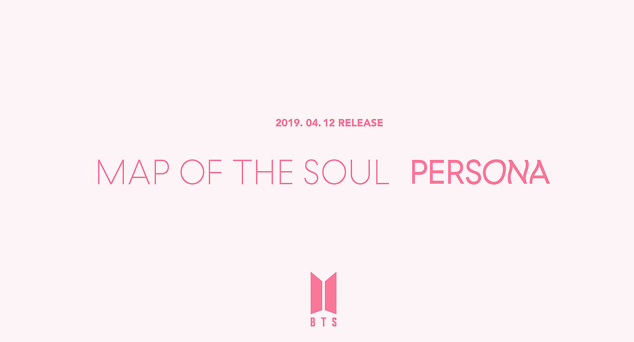 BTS - MAP OF THE SOUL: PERSONA (Version 1,2,3,4)