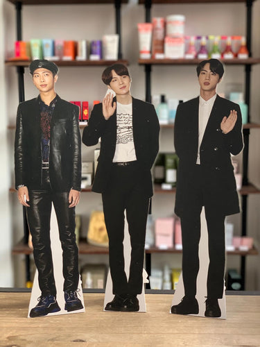 BTS mini table-top cutouts / standees