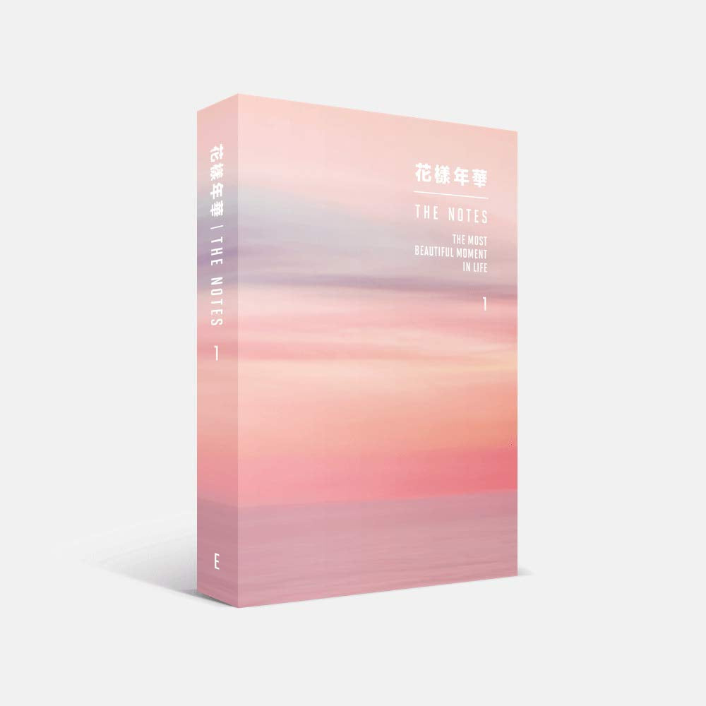 BTS The Most Beautiful Moment In Life - THE NOTES 1 (English) 花樣年華