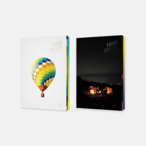 BTS Young Forever Day night version edition albums for KPOP at SOKOLLAB