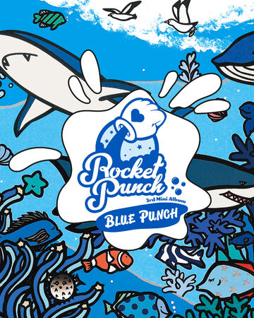 Rocket Punch 3rd Mini Album Blue Punch