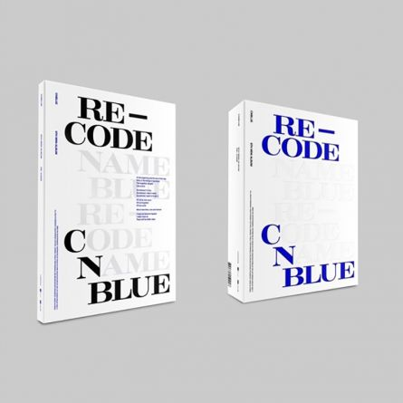 CNBLUE - 8th Mini Album [RE-CODE] Version STANDARD (BLUE TEXT)/SPECIAL (BLACK TEXT)