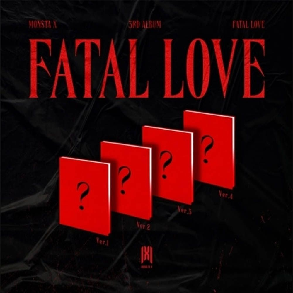 PREORDER: MONSTA X 3RD FULL ALBUM 'FATAL LOVE'
