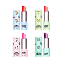 skin79 ANIMAL TWO TONE LIP BALM PEACH CAT