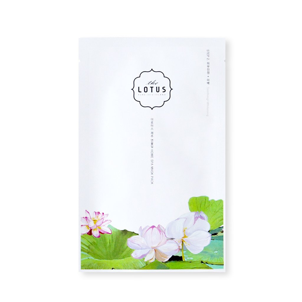 The Lotus Jeju soothing, whitening step 2