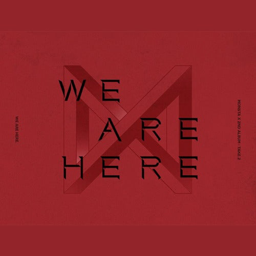 MONSTA X 몬스타엑스()  정규 2집 TAKE 2 [WE ARE HERE] (Ver.1 2 3 4)