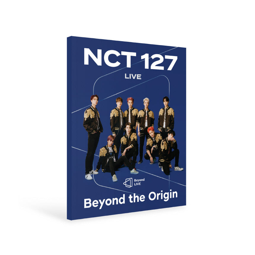 PREORDER: NCT127 BEYOND THE ORIGIN LIVE PHOTOBOOK