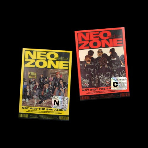 NCT127 2nd Album - NCT#127 Neo Zone NEOZONE