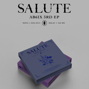 AB6IX 3RD MINI ALBUM 'SALUTE' (ROYAL/LOYAL VER.)