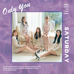 SATURDAY - 5th Single Album ONLY YOU