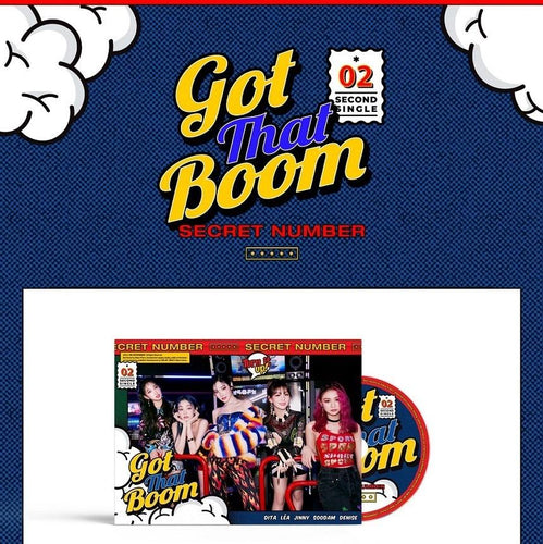 SECRET NUMBER 2ND SINGLE ALBUM 'GOT THAT BOOM'