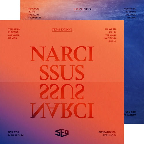 SF9 6th Mini Album Narcissus