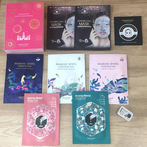 SHANGPREE SHEET MASK HEROES Limited Edition Bundle Set
