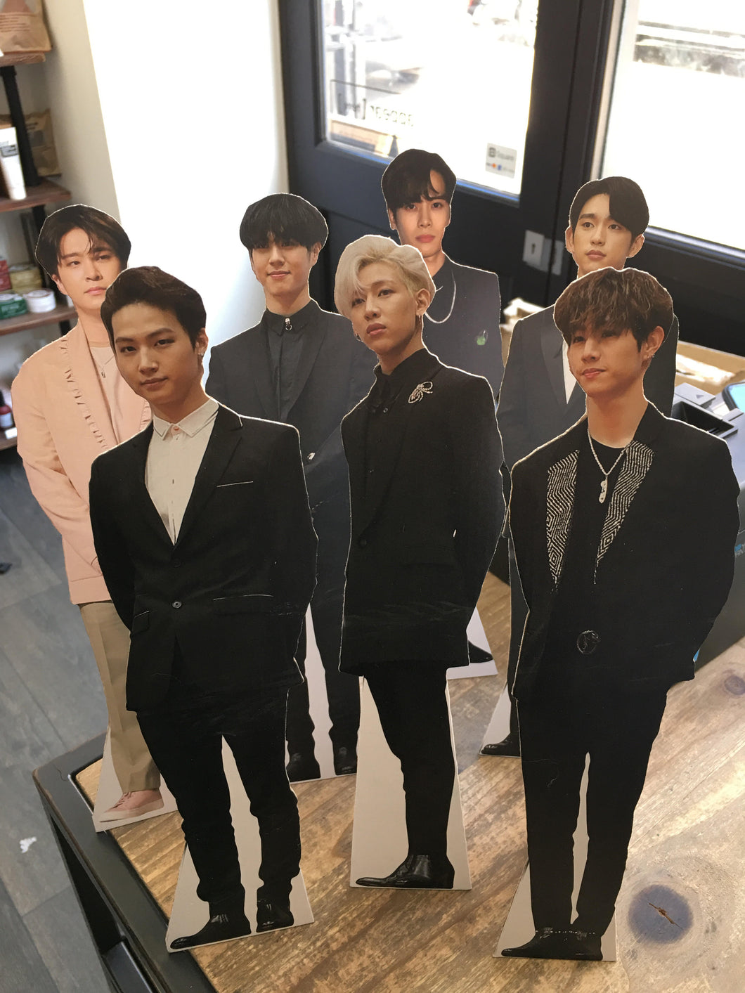 GOT7 mini table-top cutouts / standees