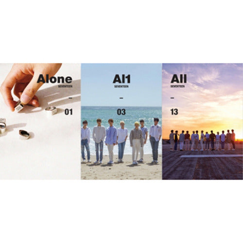 Seventeen 4th Mini Album Al1 (ALONE)