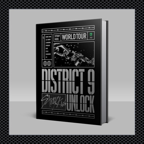 STRAY KIDS - WORLD TOUR [DISTRICT 9: UNLOCK IN SEOUL] BLURAY