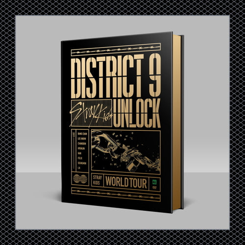STRAY KIDS - WORLD TOUR [DISTRICT 9: UNLOCK IN SEOUL] DVD
