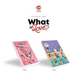 TWICE - WHAT IS LOVE Mini 5 Collection Version A and B