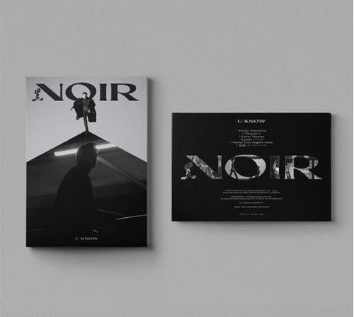 U-KNOW 2ND MINI ALBUM NOIR Versions - CRANK IN,CRANK UP