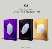 VICTON 1ST FULL ALBUM VOICE  The future is now VERSIONS The future,is,now