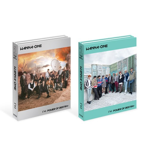 Wanna One Regular 1st Collection 111=1 Power of Destiny